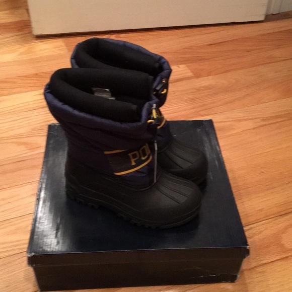 edfe9236dd0 Polo Ralph. Lauren kids Jackson Winter Boot New! NWT